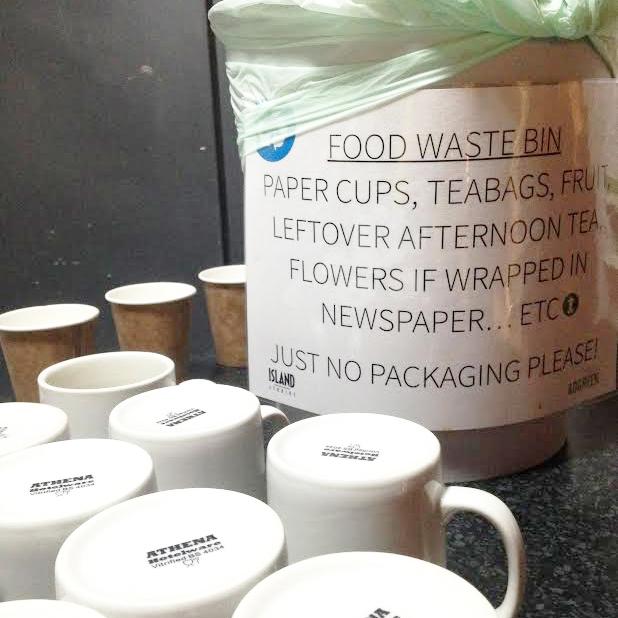 Mugs & Food Waste Bins