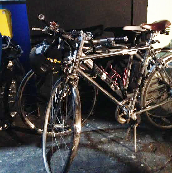 The shoot's bike collection