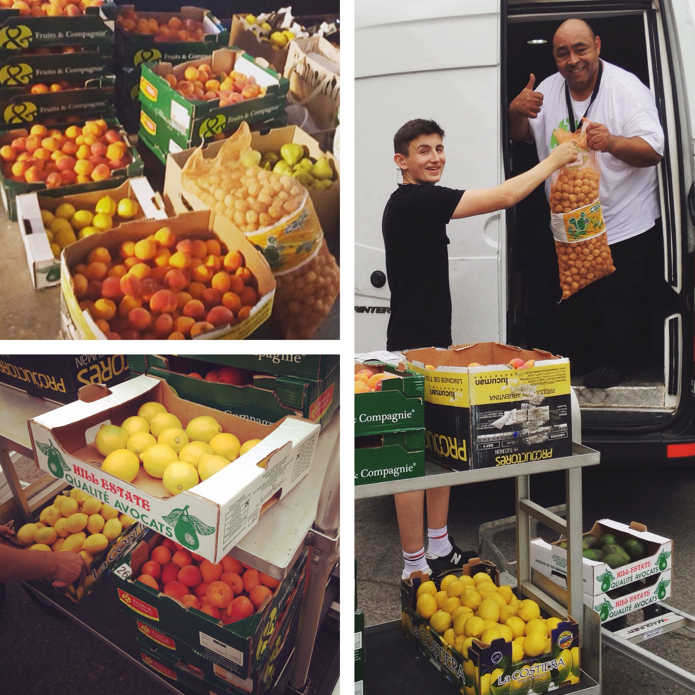 Donating to City Harvest