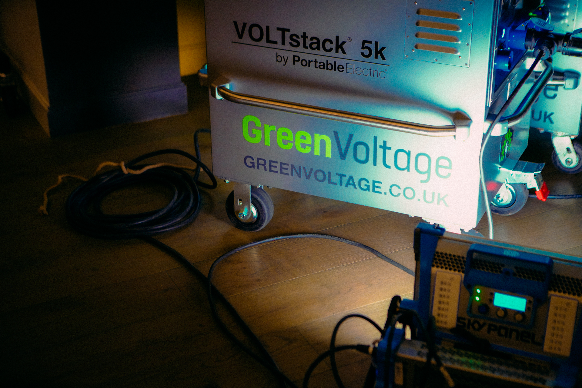 A VOLTstack 5k in action